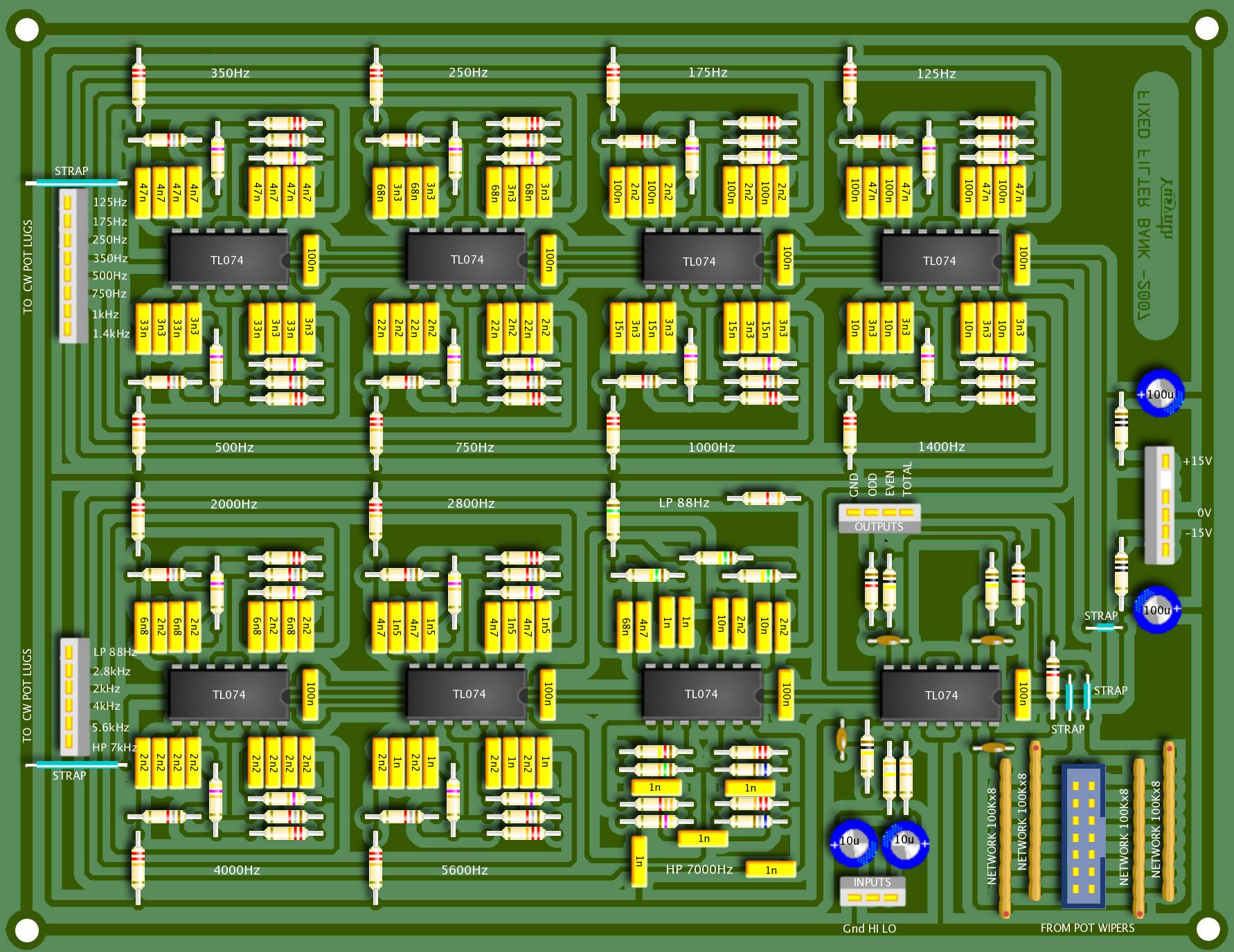 Filter Bank 10 Band Graphic Equalizer Using Gyrator Circuit