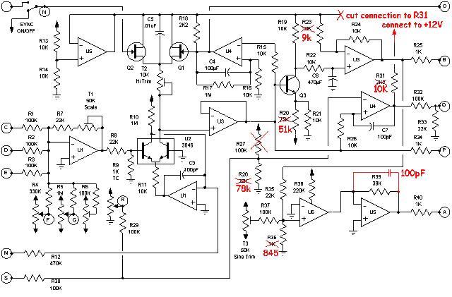 Wildcat-VCO-mods Vco Schematic on
